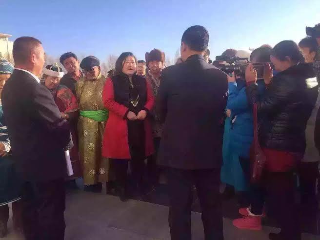 额济纳牧民上访(20151217)4