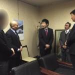 ロブサン・センゲ首相と会見2016109-4